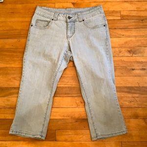 4/$40 - V.S.H. jeans (capris) diamonds -Size 14